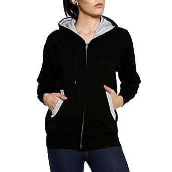 GOODTRY G Women's Cotton Hoodies-BlackGTWH-029-BLK-S