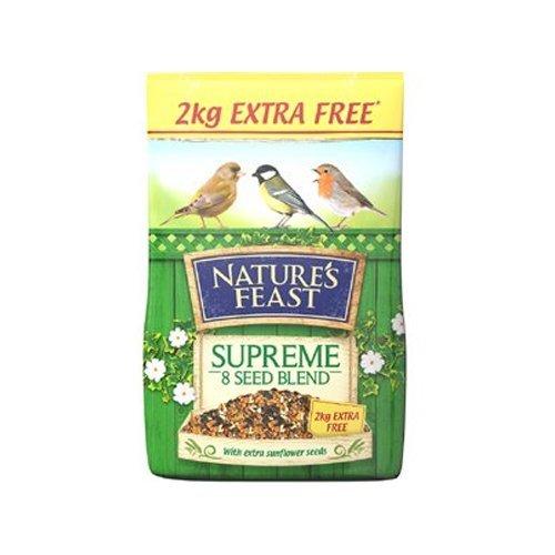 Nature's Feast Supreme 8 Mélange de graines pour Oiseaux 12,75 kg