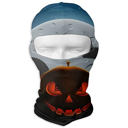 en Pumpkins Night Maßgeschneiderte Vollmaske Hood Neck Warm Für Männer Und Frauen Outdoor Sports Windproof Sunscreen ()