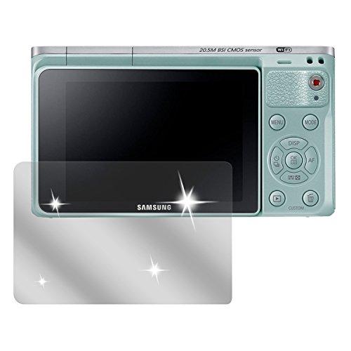 dipos Samsung NX mini Schutzfolie (6 Stück) - kristallklare Premium Folie Crystalclear (Zubehör Samsung Nx Mini)