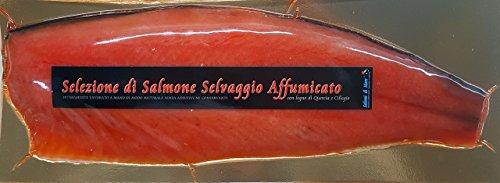 Salmone selvaggio isole faroe affumicato 1,1 kg