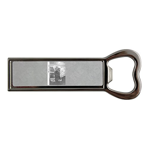 stainless-steel-bottle-opener-and-fridge-magnet-with-brigitte-bardot-with-a-man-playing-hide-and-see