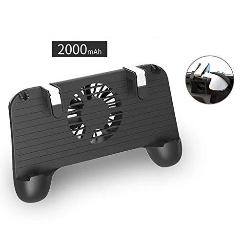 JIN Gamepad (Heizkörper für Handy + Metalltaste, mechanische Sensation + Griff + Schatz) 4 in Einem