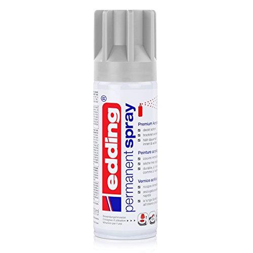 edding® permanent spray, seidenmatt Lichtgrau