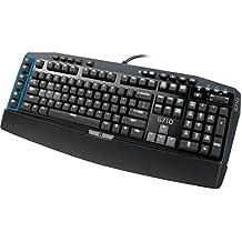 Logitech G710 - Teclado (USB, Juego, QWERTZ, USB, Windows 7 Home Premium, Windows 8, Windows Vista Home Premium, Negro)