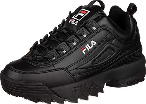 Fila Damen Disruptor Low wmn Sneaker, Schwarz (Black 1010302-12v), 38 EU