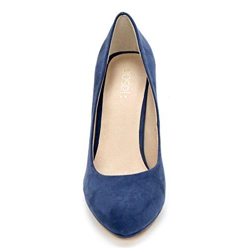 Obsel: Chaussures Et Chaussures - Femme Bleu Decolletè