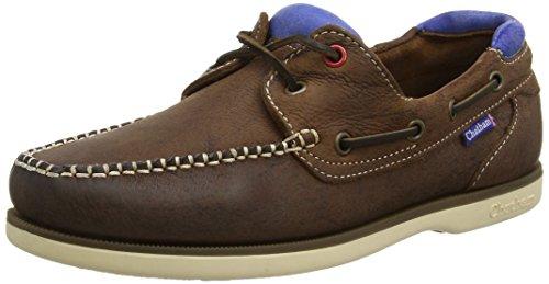 Chatham Herren Churchill Bootschuhe Brown (Dark Brown/Blue)