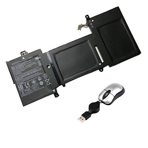 Amsahr HV03XL-05 - Batería de reemplazo para HP HV03XL, HP 818418-421, HP HSTNN-LB7B, HP HV03XL (Incluye Mini ratón óptico) Color Gris