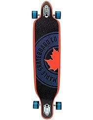 """Maple Mellow Drop Through Longboard Bleu/Orange 41"""""""