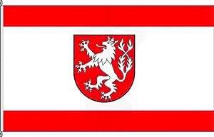 Königsbanner Hissflagge Heinsberg - 80 x 120cm - Flagge und Fahne