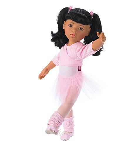 Hannah Strumpfhosen (Götz 1159451 Hannah beim Ballett Asia Puppe - 50 cm große Ballerina Stehpuppe mit schwarzen Langen Haaren und braunen Augen - 15-teiliges Set)