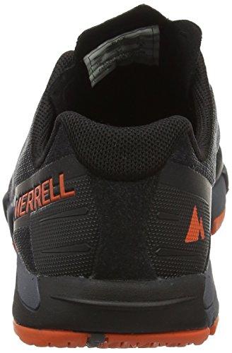 Merrell Bare Access Flex, Scarpe Running Donna Nero (Black)