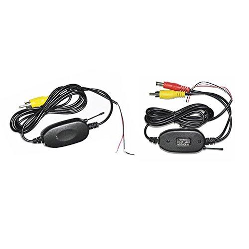 Professionelle Wireless-Farb-Video-Sender und Empf?nger f¨¹r Auto-Monitor, Head Unit, DVD-Player und Kamera