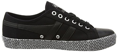 Gola Coaster Metric, Sneaker Donna Nero (Black)