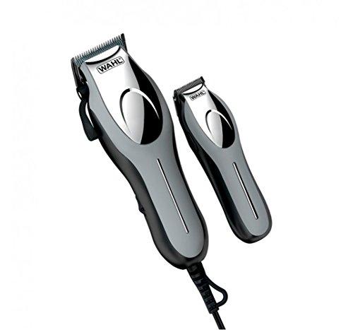 SET maquinillas cortapelos WAHL PRECISION CUT PRO profesional, para cortar el pelo largo, perfilador inalambrico, bolsa de viaje, estuche organizador de peines, tijeras, cepillo, peine, cuchillas premium de acero al carbono, 10 peines de corte desde 1,5mm