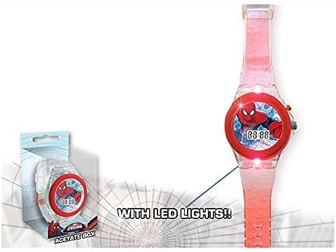 Kids Licensing - MV92356 - Spiderman - Montre digitale LED
