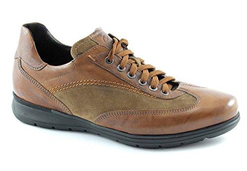 LION 11220 chaussures de tabac homme cuir décontractée antistatique Marron