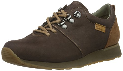 El Naturalista Nd64 Pleasant-Lux Suede Walky, Scarpe da Ginnastica Basse Unisex - Adulto, Marrone (Brown-Wood Nnl), 42 EU