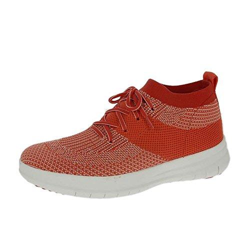fitflop-uberknit-slip-on-hohe-top-sneakers-hot-coral-neon-erroten-uk55-hot-coral-neon-erroten