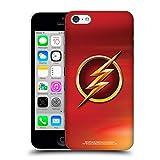 Head Case Designs Ufficiale The Flash TV Series Rosso Logos Cover Dura per Parte Posteriore Compatibile con iPhone 5c