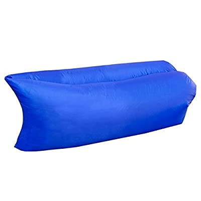 Air Sofa Lounger Hangout Laybag Lounge Cushion Bean Bag-Dark Blue-Switzerland from the factory - low-cost UK light shop.