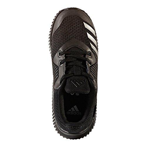 adidas Fortarun K, Chaussures de sport mixte enfant Multicolore (Negbas/Negbas/Negbas)
