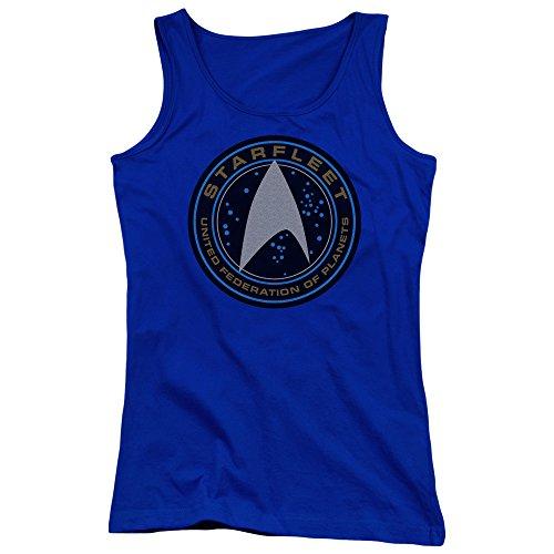 Star Trek - Pull sans manche - Femme Bleu Marine