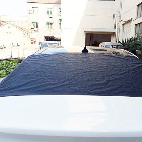 Scheibenabdeckung Frostabdeckung Frontscheibe Abdeckung Frostschutz 140 * 90cm Winterschutz für Windschutzscheibe