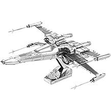 Fascinaciones - Vii Star Wars: X-Wing Kit de combate modelo 3D del Fuerza despierta la tierra del metal Poe Dameron