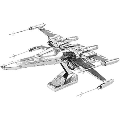 Fascinaciones - Vii Star Wars: X-Wing Kit de combate modelo 3D del Fuerza despierta la tierra del metal Poe