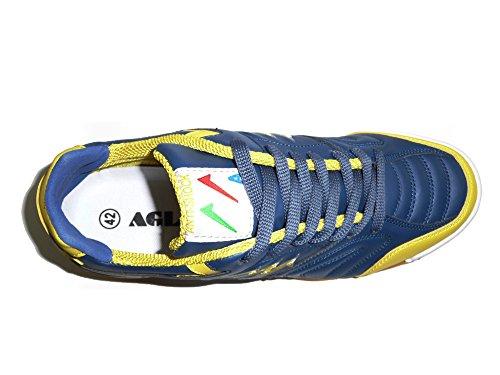 Agla Professional F / 40 Indoor Scarpe Calcetto Azul Marino / Amarillo