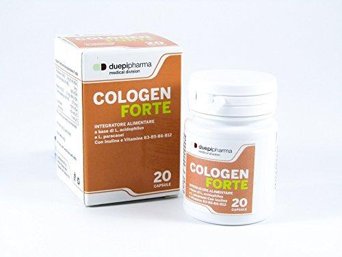 Cologen forte è un Integratore di fermenti lattici per il benessere dell\' intestino e a sostegno delle difese immunitarie - Cologen Forte