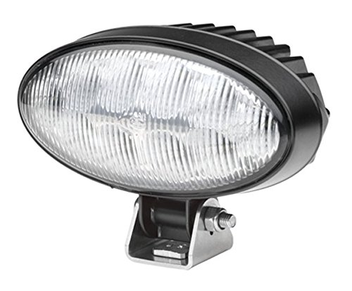 HELLA 1GA 996 288-021 Arbeitsscheinwerfer Power Beam 1500 für weitreichende Ausleuchtung, Anbau, LED, 12V/24V, 22W