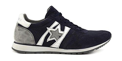 Sneaker uomo Cafè Noir PB631 blu Blu