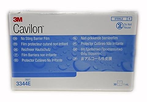 3M 3344E Wipes Skin (30 x 1ml) 3M Cavilon Alcohol Free No Sting Barrier Film Part No. 3344E 3M