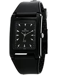 Maxima Analog Black Dial Men's Watch - 02438PPGW