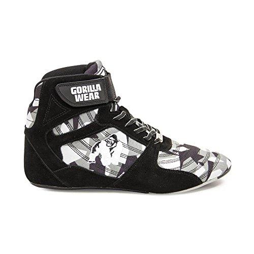 Gorilla Wear Perry High Tops Pro - Black/Gray Camo/schwarz/grau-camo - Bodybuilding und Fitness...