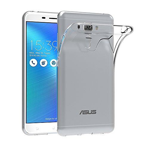 Asus ZenFone 3 Laser Hülle, AICEK Transparent Silikon Schutzhülle für Asus ZenFone 3 Laser 5,5
