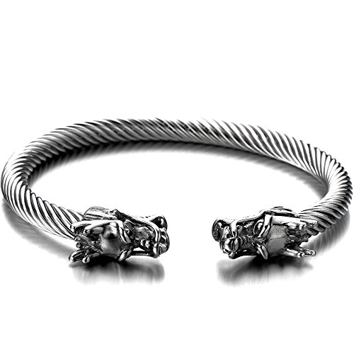 elastic-adjustable-mens-dragon-bracelet-stainless-steel-twisted-cable-bangle-cuff-bracelet-silver-co
