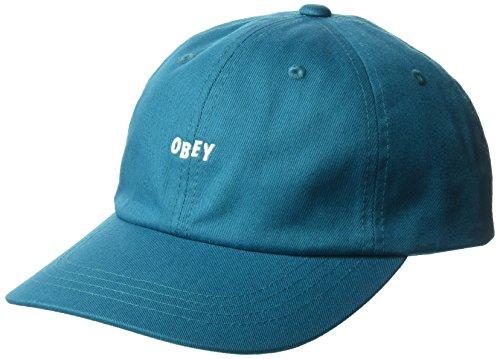 Obey herren 100580071 Baseballmütze - blau - Einheitsgröße - Obey-mütze