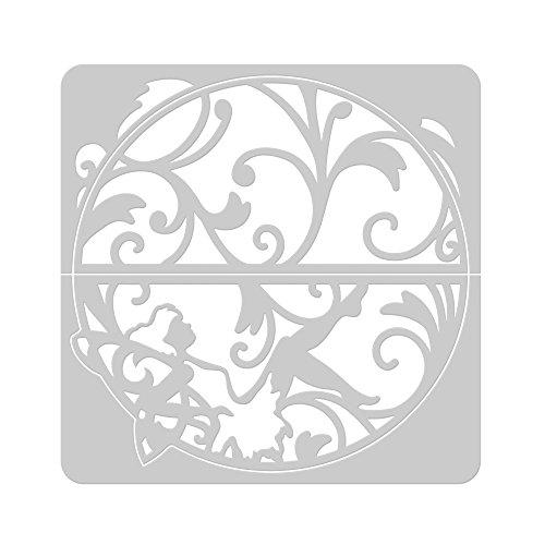 tonic-studios-437e-indulgence-eternal-glade-troquel-semicircular-con-vegetacion-y-hada-color-blanco