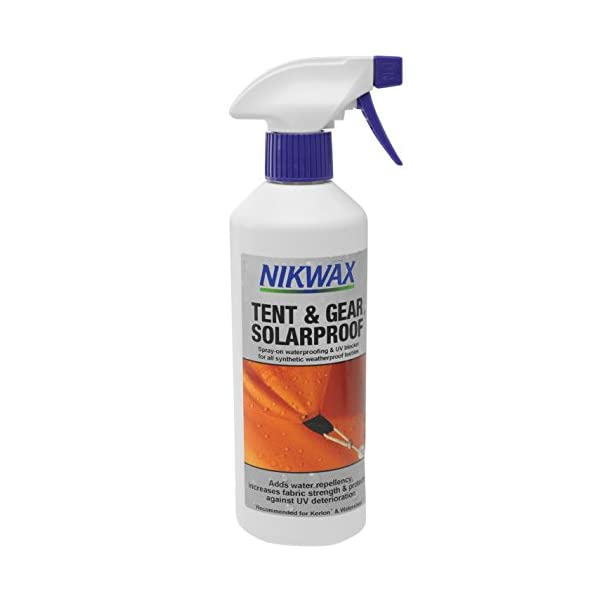 Nikwax Tent and Gear Solarproof Spray-On Tent Waterproofer 1