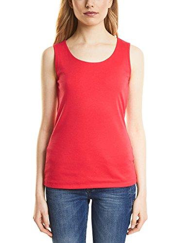 Street One Damen 312070 Gania Top, Rot (Hibiscus Red 11346), 40 Hibiscus Tank