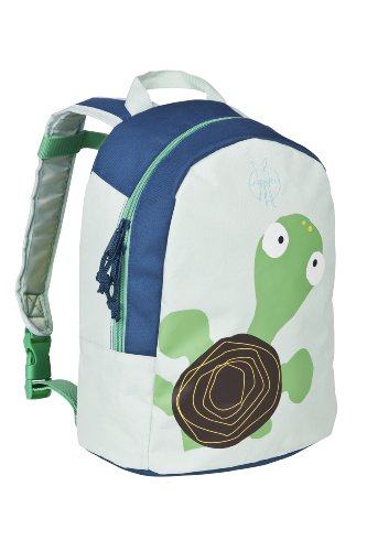 Lassig Sturdy Durable Childrens Backpack, Wildlife Turtle