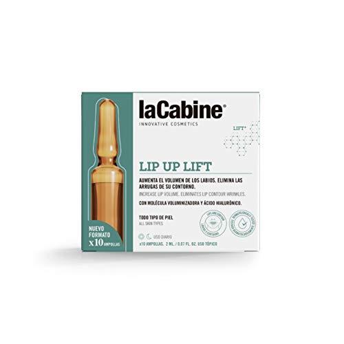 La Cabine Ampollas Lip Up Lift - Aumento del volumen de labios - Reparador labial, hidratante y tratamiento de las arrugas del contorno de labios