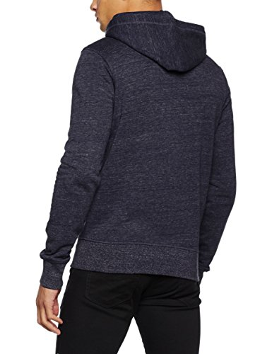 JACK & JONES Herren Jacke Jorstorm Sweat Zip Hood Basic Noos Blau (navy Blazer Fit:reg)