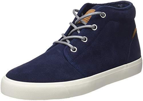 Pepe Jeans London Jungen Traveler Bootie Hohe Sneaker, Blau (Navy 595), 39 EU