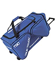Sherwood Eishockeytasche True Touch T 90 Wheel Bag - Bolsa para material de hockey sobre hielo, color azul, talla 80 x 38 x 38 cm, 116 l