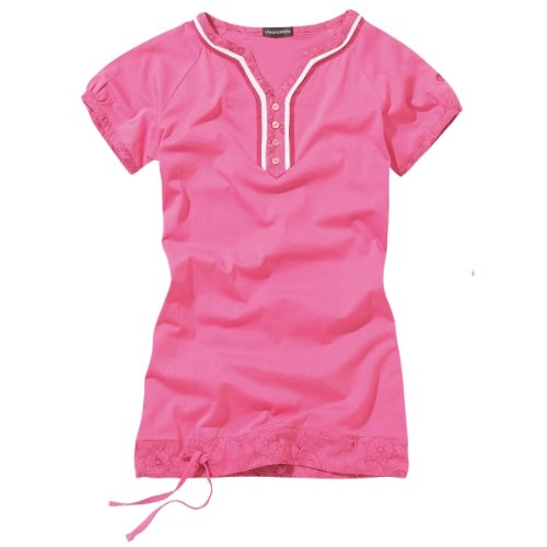 Craghoppers Damen Top & T-Shirt Chennai Hot Pink